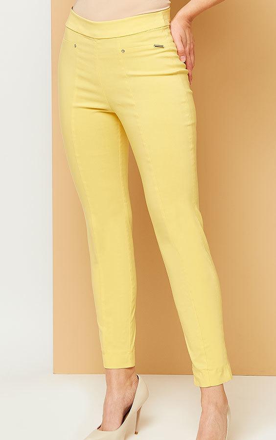 dba14a4cd0 Kaskada producent odzieży damskiej spodnie Iva żółte