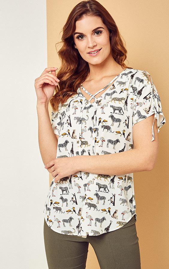 19c95fff48 Kaskada producent odzieży damskiej bluzka Brenda